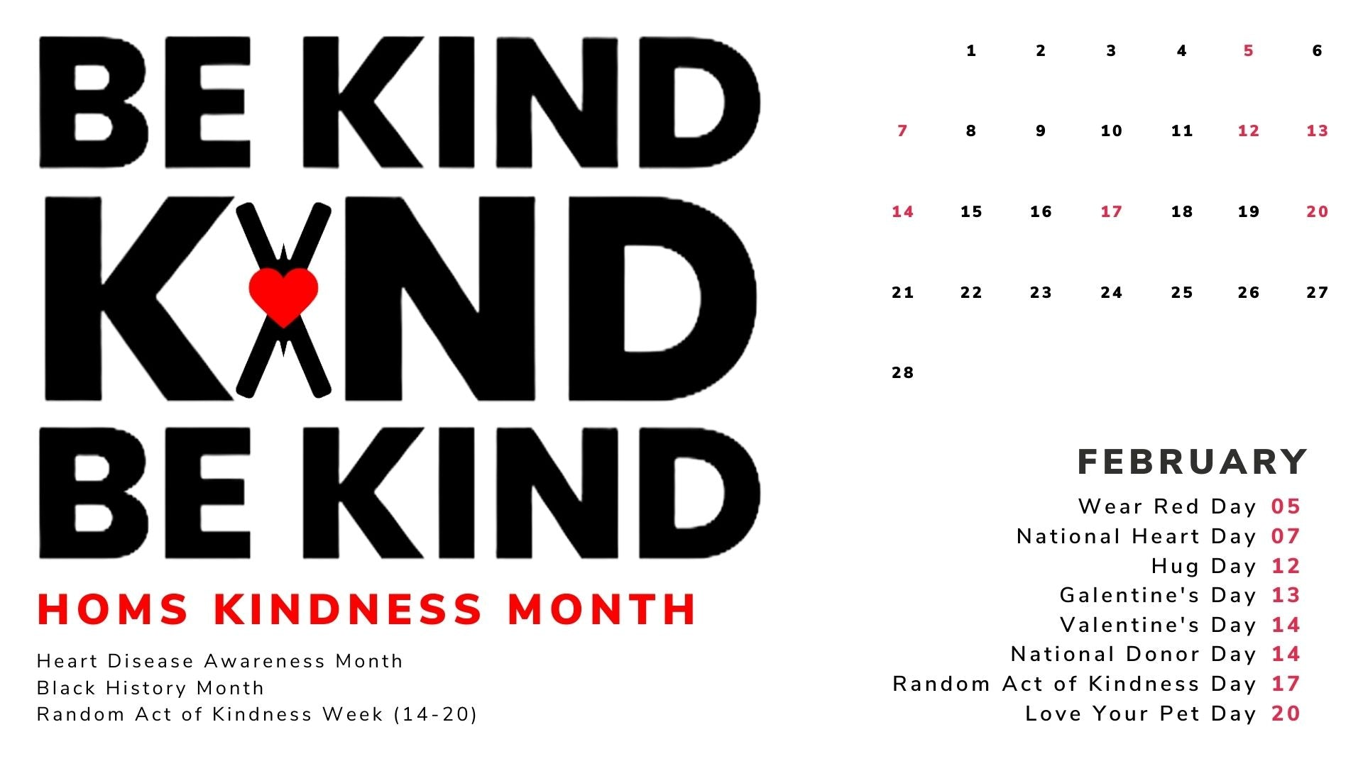 Kindness Month - Heart On My Sleeve Confident Clothing Brand and Creative Community