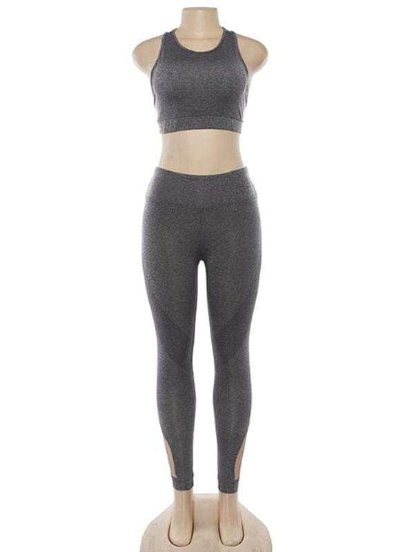 Hollow Breathable Yoga Sports Sets