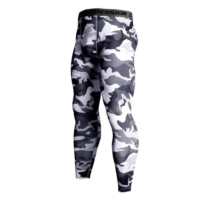 Men's Sports Fitness Camouflage tight Pants