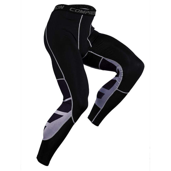 Men's Sports Basketball Fitness Stitching Tight Pants