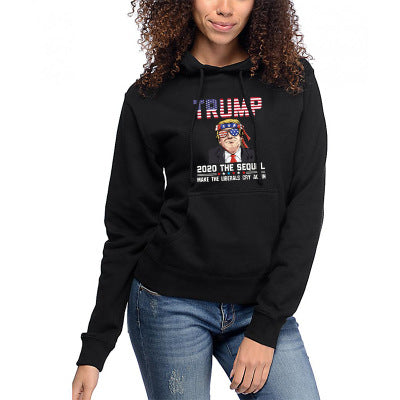 """Trump 2020"" 3D Printed Pocket Hoodie Sweatshirts"