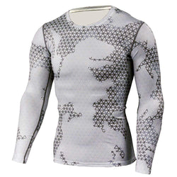 Running Cycling Breathable Compression Men's T-shirt