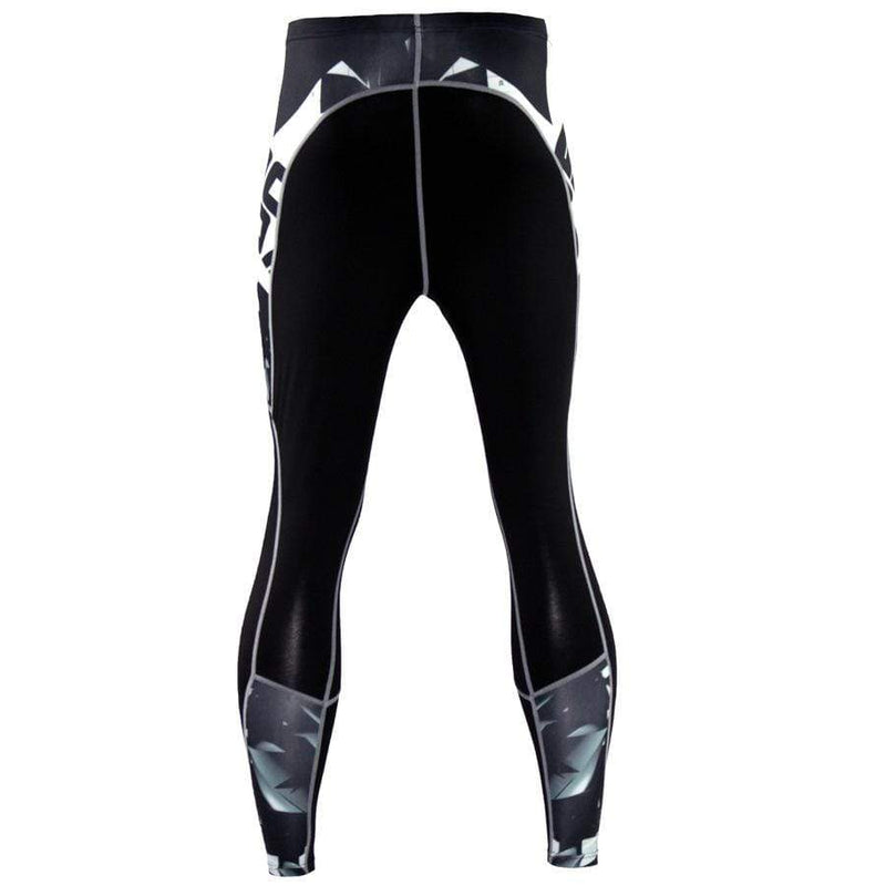 Men's Sports Fitness Letter Printed Pants
