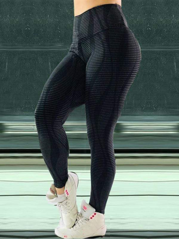 High Waist Push Up 3D Printed Leggings