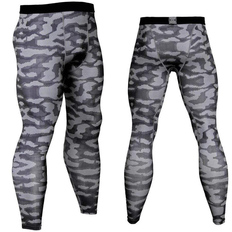 Men's Sports Fitness Camouflage Dot Tight Pants