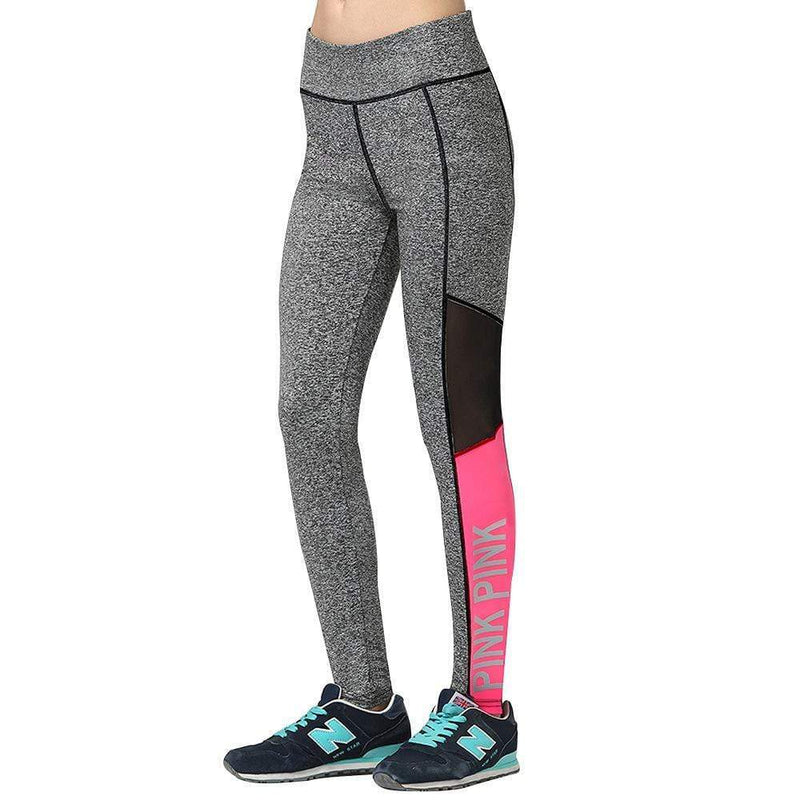 Casual PINK Yoga Wear Fitness Pants