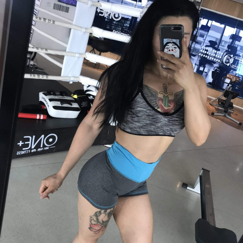 Sexy stitching Active Shorts