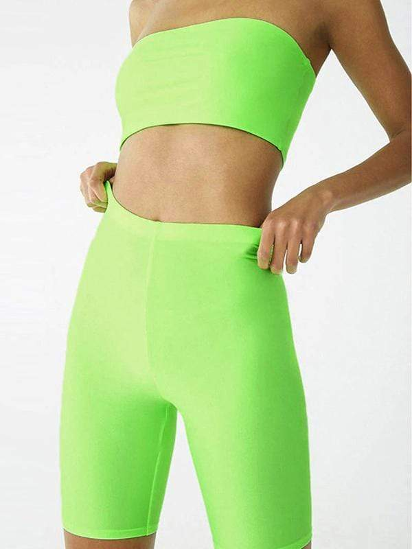 Solid color sports yoga