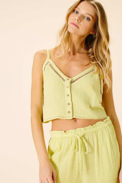 Emi Cami Top | Lime