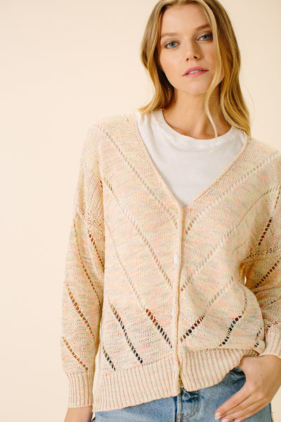 Bliss Stripe Cardigan