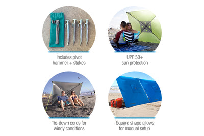 QuadraBrella – Multi-Functional Umbrella