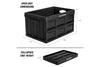 CleverCrates 3 Pack – Collapsible 46 Liter Utility Crate