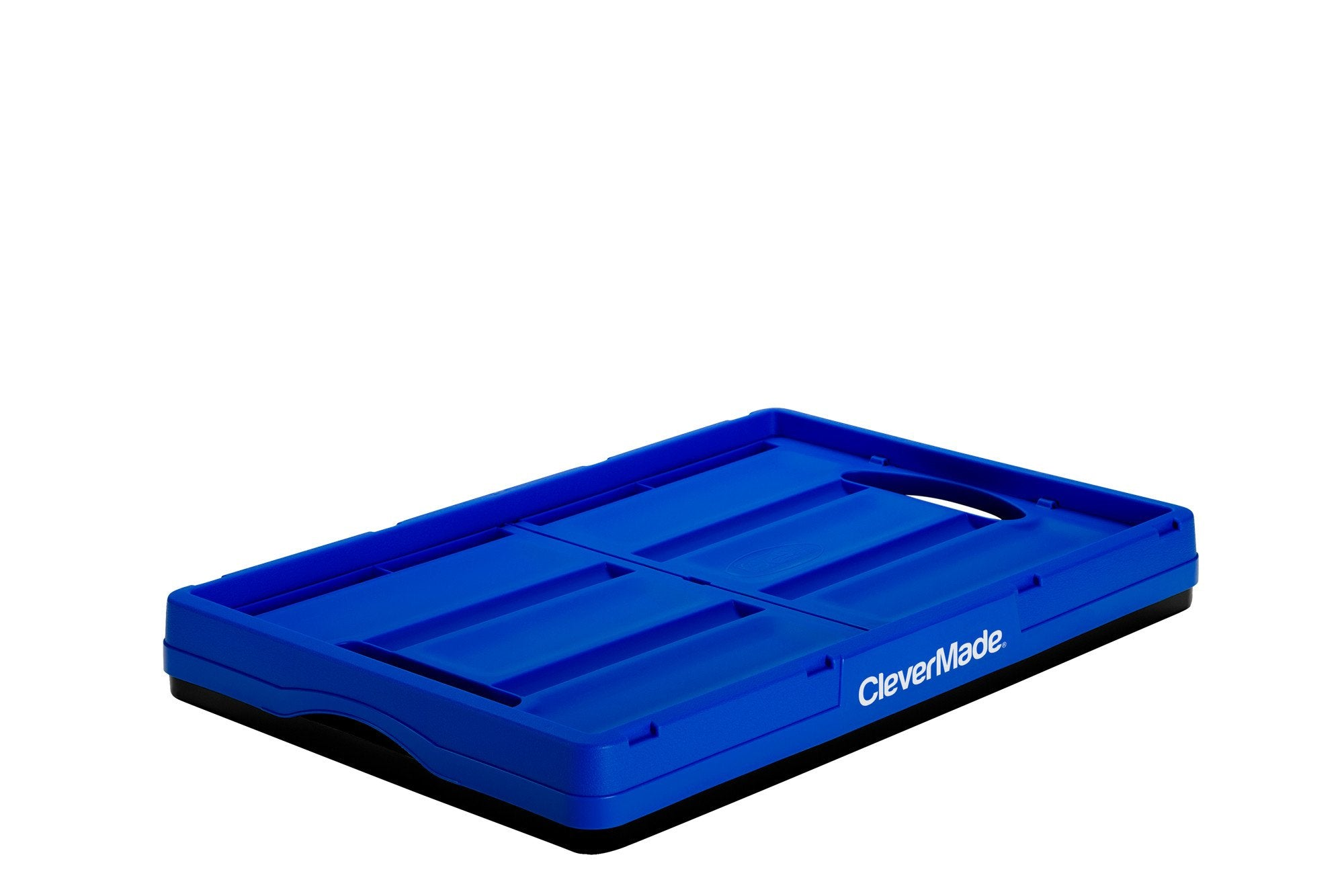 Collapsible Crate 46 Liter Solid Wall Clevermade