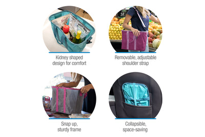 EcoBasket 3 Pack – Collapsible 20 Liter Tote