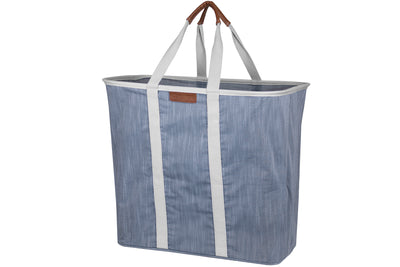 Laundry Caddy LUXE – Collapsible Laundry Basket & Hamper, Holds 2 Loads