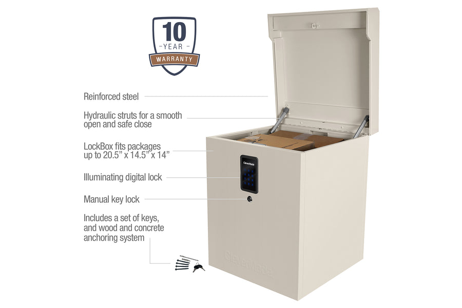 Parcel LockBox S100 Series - Package Theft & Weather Protection