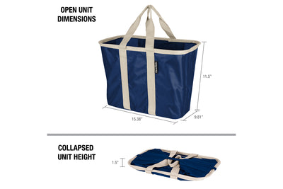 SnapBasket Tote 3 Pack - Collapsible 20 Liter Tote