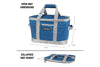 Tahoe Cooler - Sturdy & Collapsible, Holds 50 Cans + Ice
