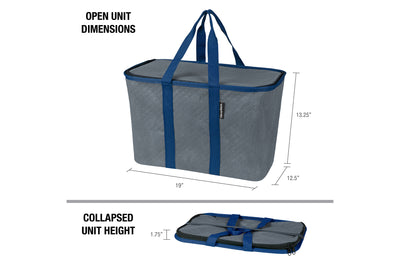 SnapBasket Thermo Tote - Collapsible Insulated 30 Liter Tote