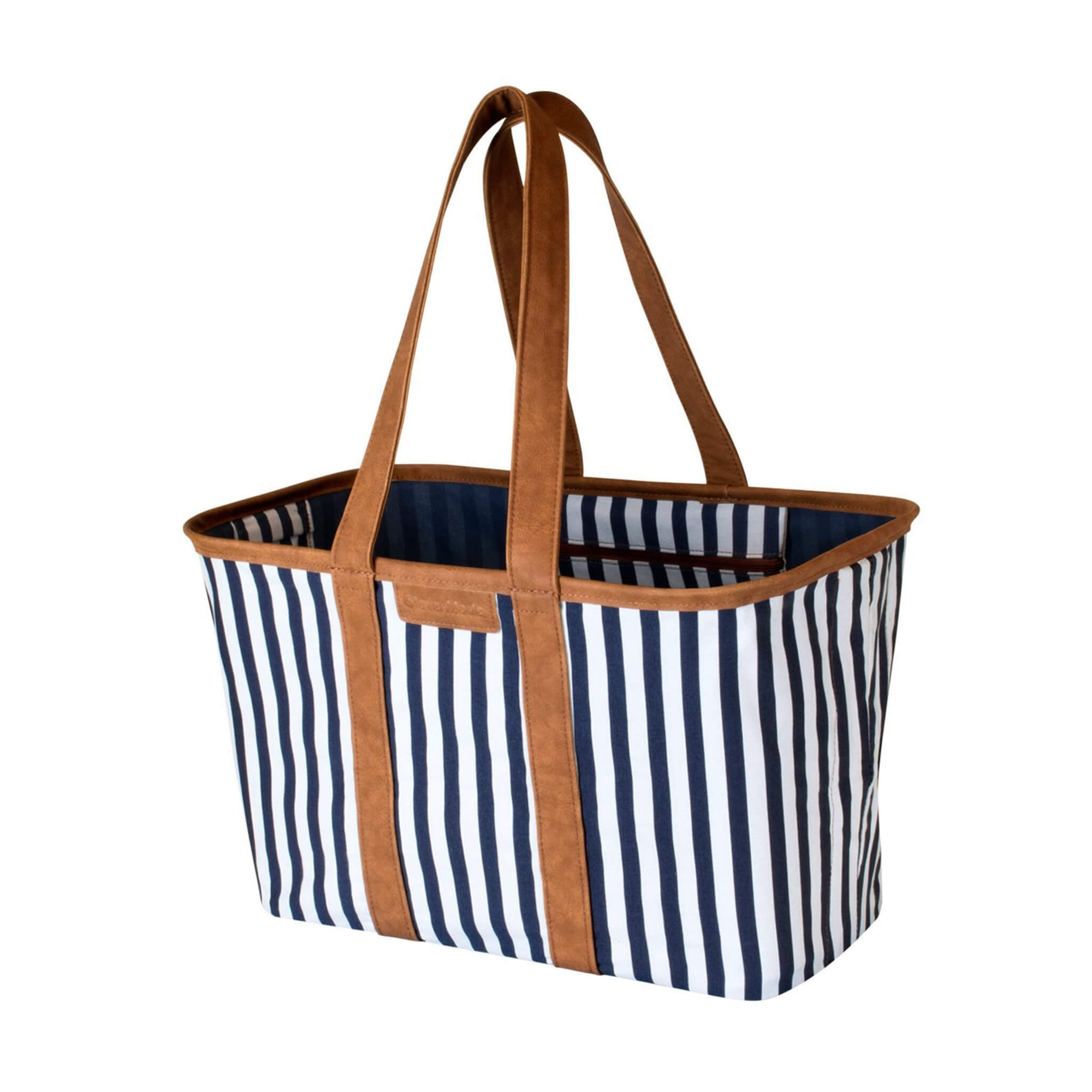 Navy Striped