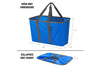 SnapBasket Tote 3 Pack - Collapsible 30 Liter Tote