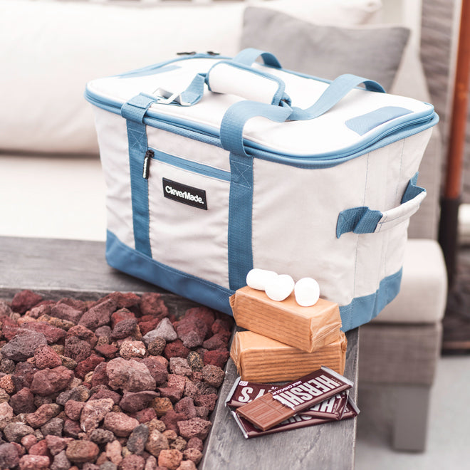 Tahoe Cooler with s'mores
