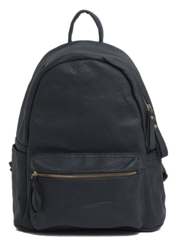 Faux Leather Backpack - Artica - Mabel London
