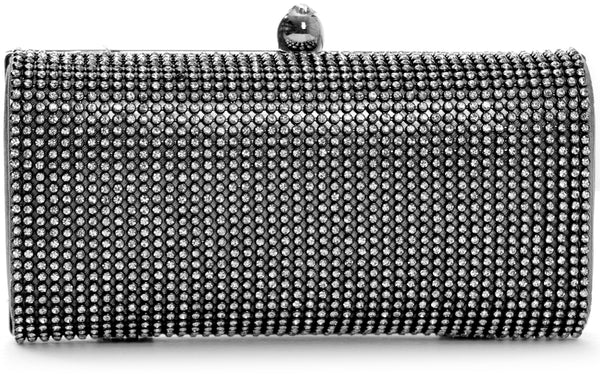 Sapphire Clutches Mabel London Black