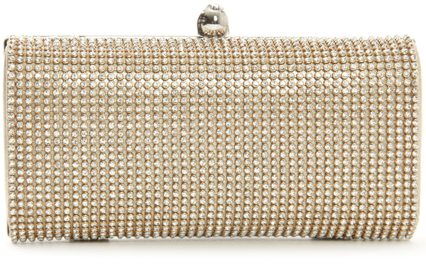 Sapphire Clutches Mabel London Gold
