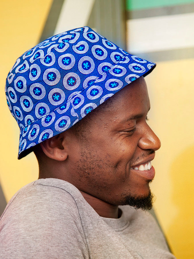 Adult Shweshwe Bucket Hat
