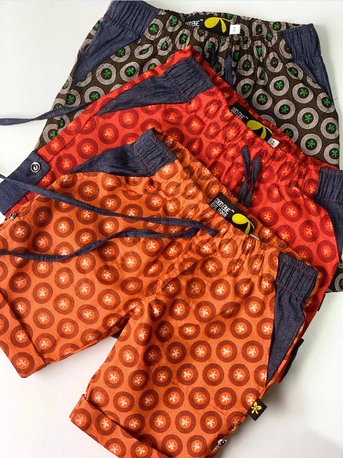 Kiddies Shorts - Denim Detail