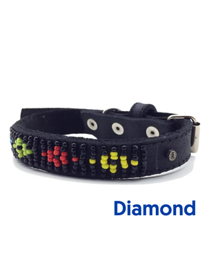 Relate Beaded Dog Collar
