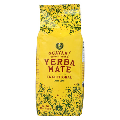 Image of Guayaki Organic Yerba Mate - Traditional - Case Of 6 - 16 Oz.