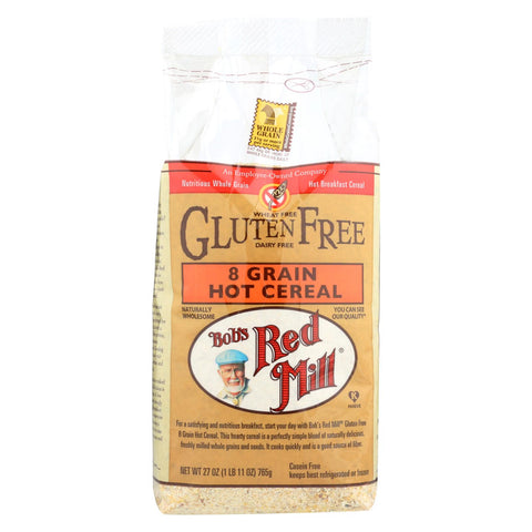 Image of Bob's Red Mill Gluten Free 8 Grain Hot Cereal - 27 Oz - Case Of 4