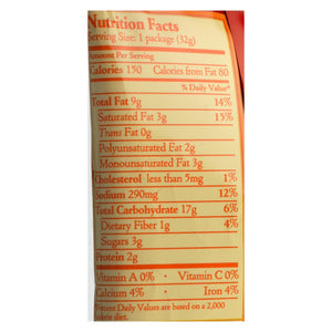 Late July Snacks Sandwich Crackers - Cheddar Cheese - Case Of 4 - 1.125 Oz.