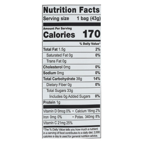 Image of Natierra Freeze Dried - Mangos - Case Of 12 - 1.5 Oz.