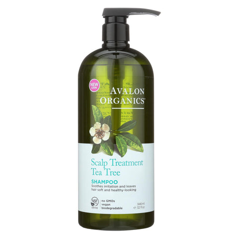 Image of Avalon Shampoo - Organic Tea Tree - 32 Oz