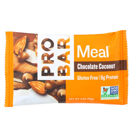 Image of Probar Organic Chocolate Coconut Bar - Case Of 12 - 3 Oz