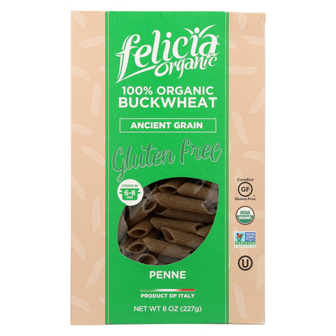 Image of Felicia Organic - Penne Pasta - Ancient Grain - Case Of 6 - 8 Oz.