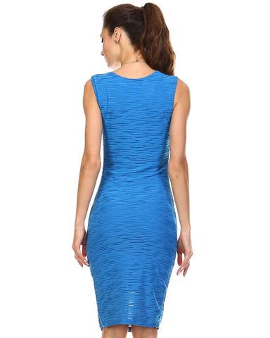 Image of Women's Textured Knit Tank Dress