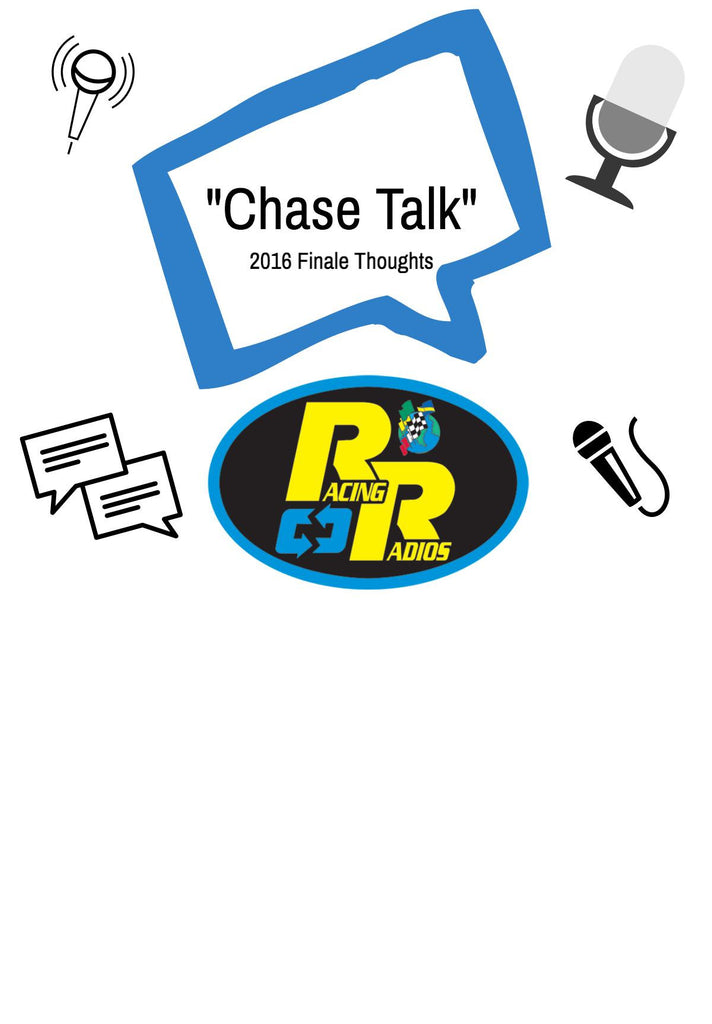 "Stay tuned for, ""Chase Talk!"""