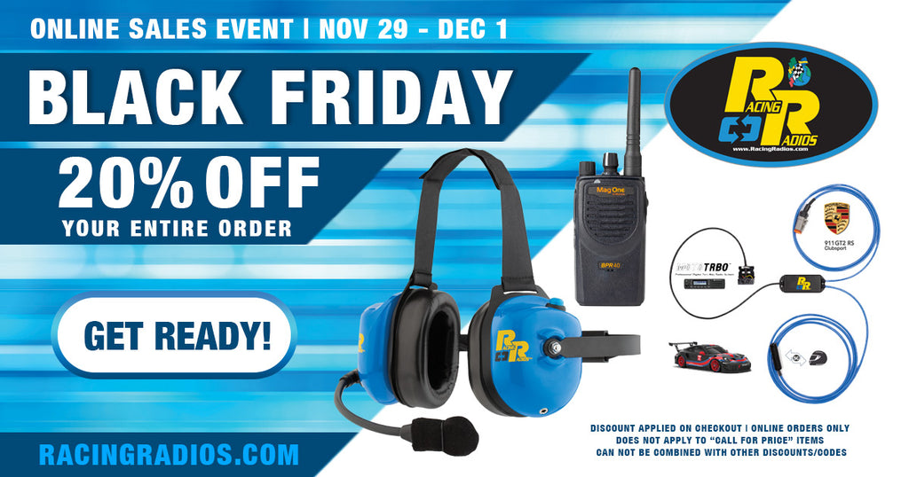 Black Friday | Two-Way Radios & More