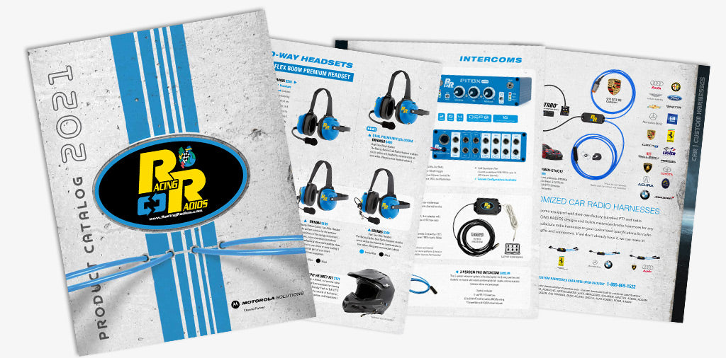Racing Radios Releases 2021 Product Catalog