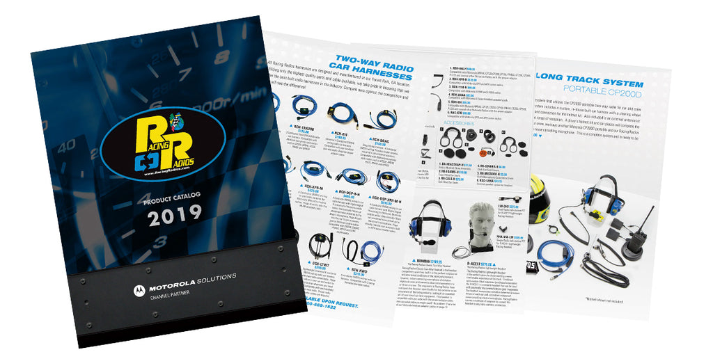 2019 Racing Radios Product Catalog Download Available (PDF)
