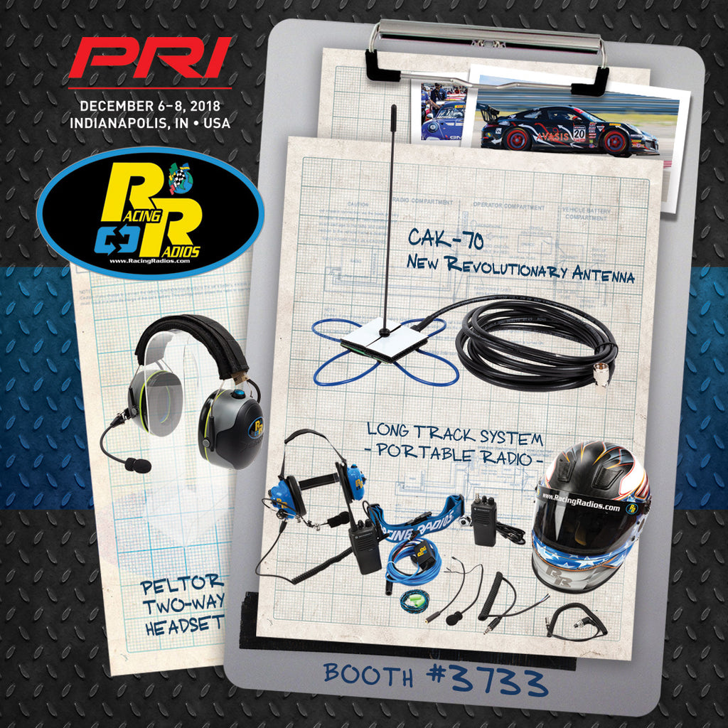 Racing Radios PRI 2018 Trade Show Indianapolis