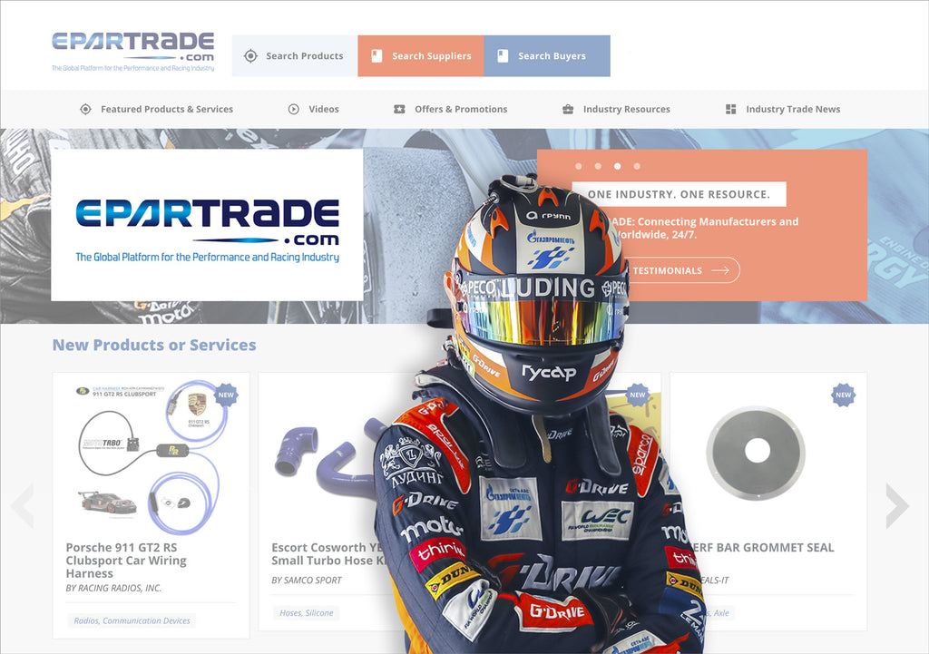Racing Radios Joins Global Performance Racing Industry Marketplace