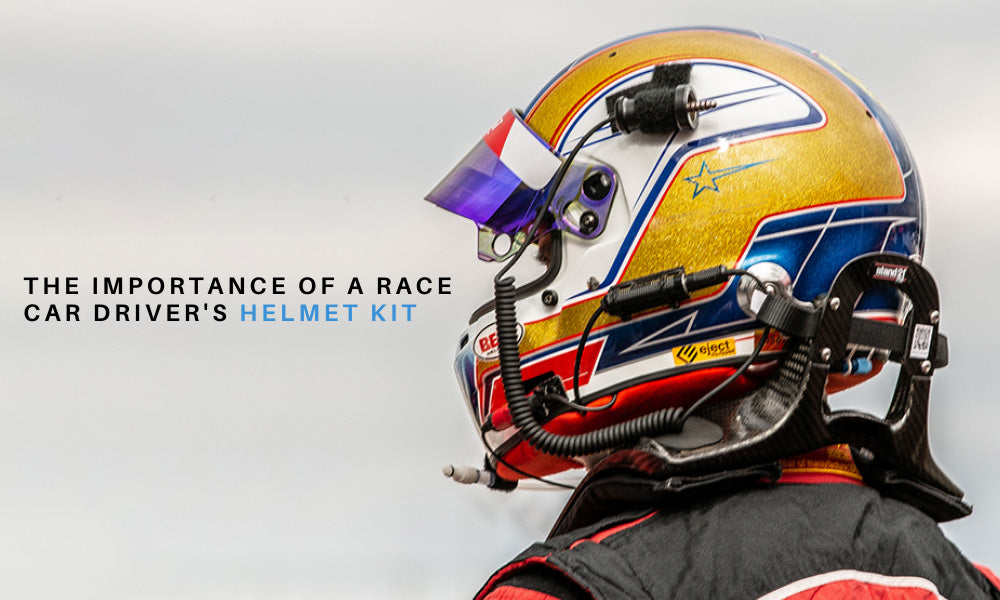 The Importance of a Race Car Driver's Helmet Kit