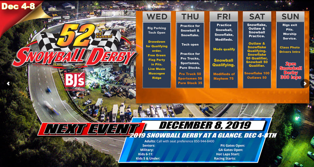 52nd Annual Snowball Derby 2019 | 5 Flags Speedway