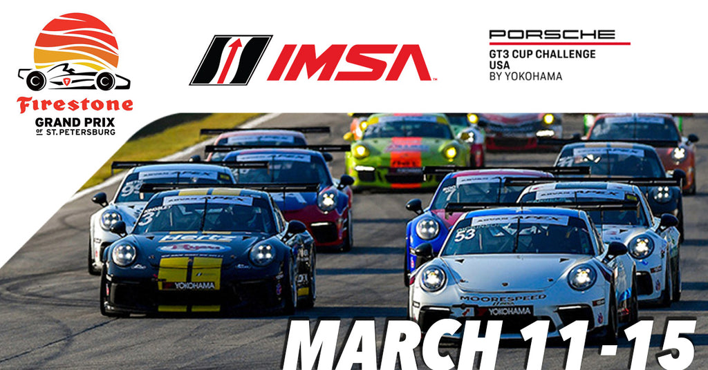IMSA's Porsche GT3 Hits The Streets of St. Pete