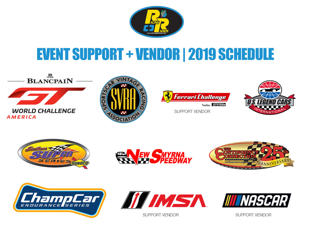 Racing Radios Event Support 2019